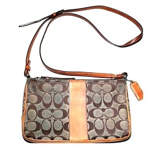 COACH CROSSBODY PURSE ADJUSTABLE STRAP